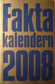 Faktakalendern 2008 par Britt Gynther