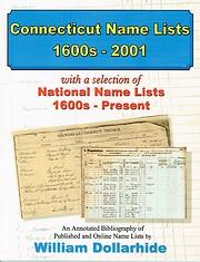 Connecticut Name Lists, 1600s–2001,…