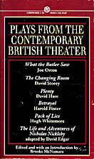 Plays from the Contemporary British Theater…