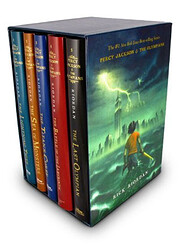 Percy Jackson and the Olympians 5 Book…
