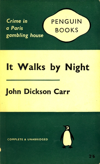 It Walks by Night cover