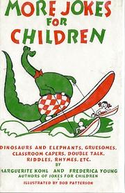 More Jokes for Children de Marguerite Kohl