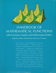 Handbook of Mathematical Functions: with…