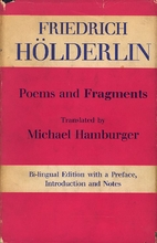 Poems and Fragments by Friedrich Hölderlin