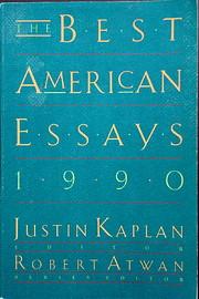 The Best American Essays 1990 por Justin…