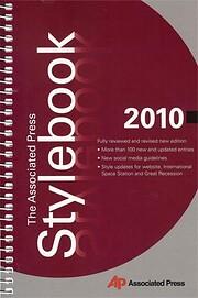 The Associated Press Stylebook 2010 de…