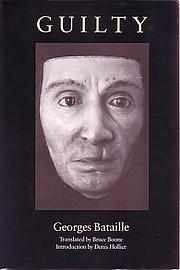 Guilty af Georges Bataille