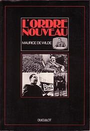 L'ordre nouveau por Maurice De Wilde