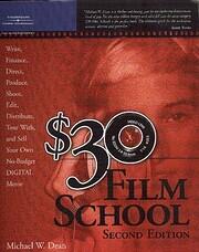 $30 Film School de Michael W. Dean