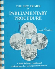 The new primer in parliamentary procedure:…