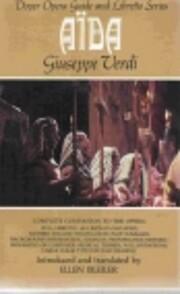 Aida: Opera Guide and Libretto de Giuseppe…
