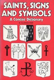 Saints, Signs and Symbols por W.Ellwood Post