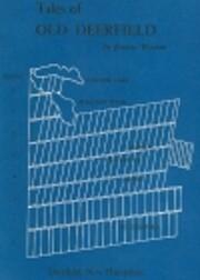Tales of Old Deerfield de Joanne F. Wasson