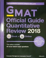 GMAT Official Guide 2018 Quantitative…