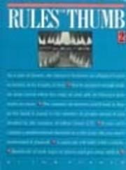 Rules of thumb 2 de Tom Parker