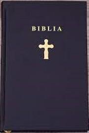 Biblia por D. Cornilescu