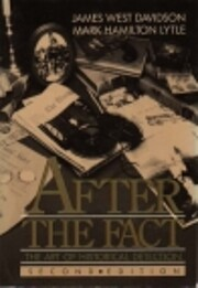 After the Fact: The Art of Historical…
