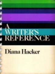 Writers Reference af Diana Hacker