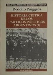 Historia crítica de los partidos políticos…