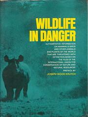 Wildlife in Danger de James Fisher