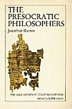 The Presocratic Philosophers, vol. 2:…