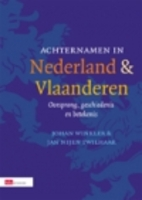 Achternamen in Nederland en Vlaanderen :…