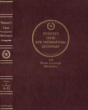 Webster's Third New International…