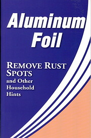 Aluminum Foil (Removes Rust Spots and Other…
