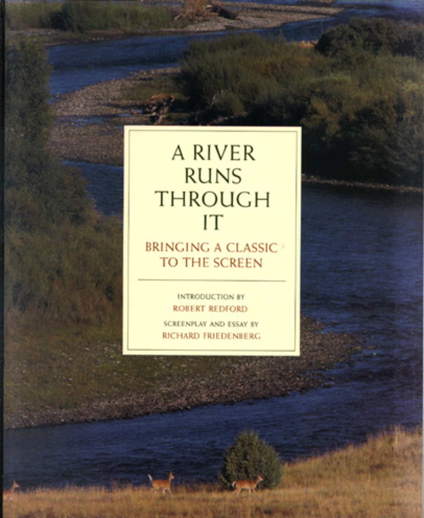 essay it river run through Essays and criticism on norman maclean's a river runs through it - critical context.