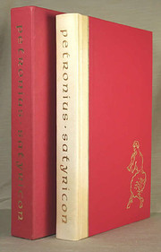 The Satyricon of Petronius (Limited Edition)…