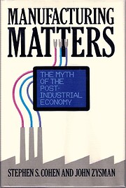 Manufacturing Matters: The Myth of the…