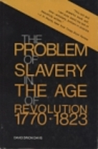 The Problem of Slavery in the Age of…
