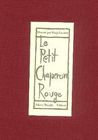 Le Petit Poucet by Warja Honegger-Lavater