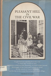 Pleasant Hill in the Civil War de Thomas…