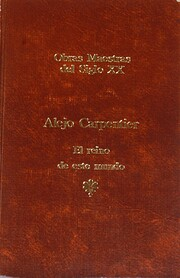 Reino De Este Mundo av Alejo Carpentier