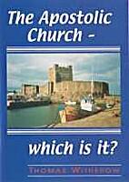 Apostolic Church by Thomas Witherow