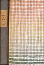 The Alchemy of Books por Lawrence Clark…