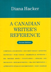 A Canadian Writer's Reference de Diana…