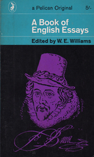 Nice A Book Of English Essays By W. E. Williams