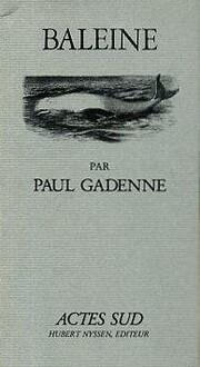 Baleine par Paul Gadenne