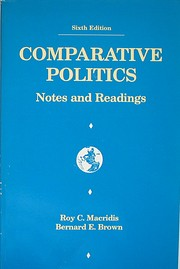 Comparative politics : notes and readings af…