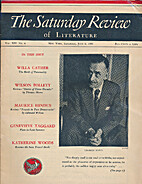 The Saturday Review of Literature, Vol XIV…