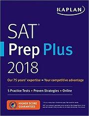 SAT prep plus 2018 av Kaplan Test Prep