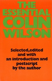 The Essential Colin Wilson von Colin Wilson