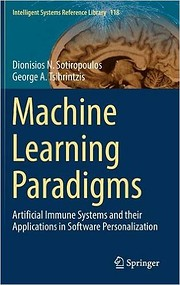 Machine Learning Paradigms : Artificial…