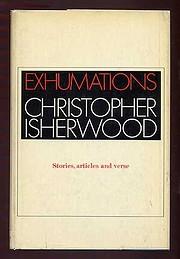 Exhumations: Stories, articles, verses por…