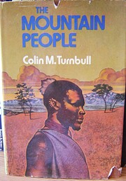 The mountain people de Colin M. Turnbull