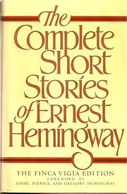 The Complete Short Stories of Ernest…