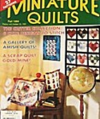 Miniature Quilts...magazine...fall 1994
