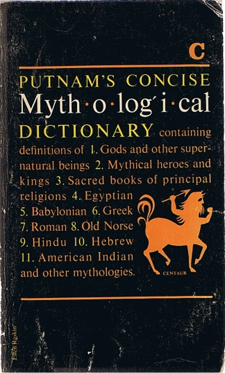 Dictionary of Sacred Myth